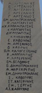 Μνημείο Πεσόντων στον Άγιο Αρσένιο Νάξου