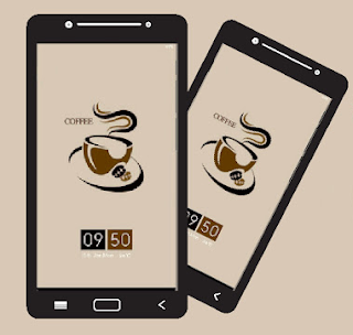 Download Xiaomi Theme I Love Coffee White Milk Mtz Tampil Menawan