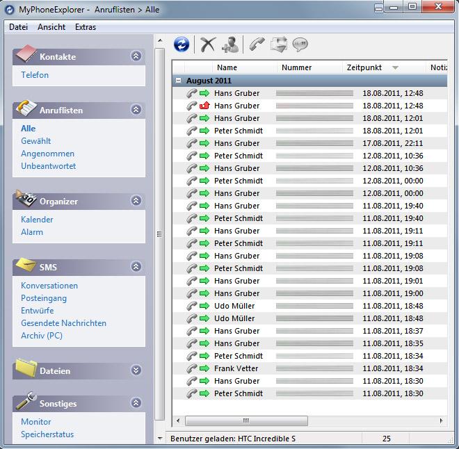 Datenaustausch: Dein Netz aus Daten: September 2011