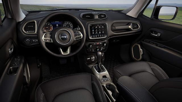 Jeep Renegade 1.3 Turbo Automático 2020: dados oficiais consumo