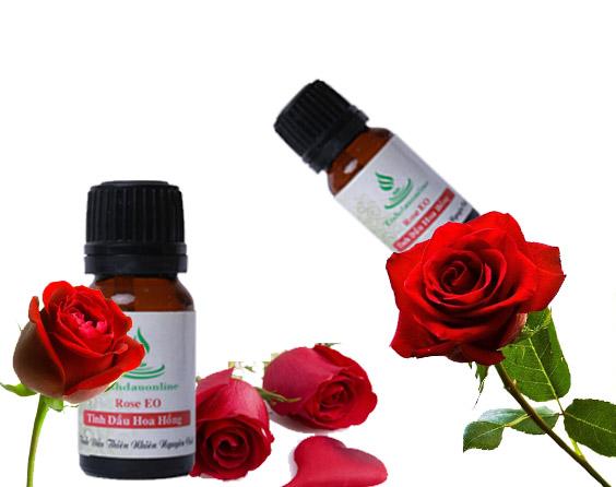 làm đẹp bằng tinh dầu hoa hồng