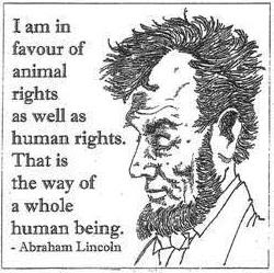 Honest Abe indeed