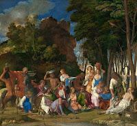 A Festa dos Deuses - Giovanni Bellini ~ Renascimento ~ Gênios da pintura
