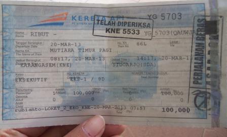 Pengalaman Funtastic Naik Kereta Api Mutiara Timur [Pagi] dari Banyuwangi Ke Surabaya