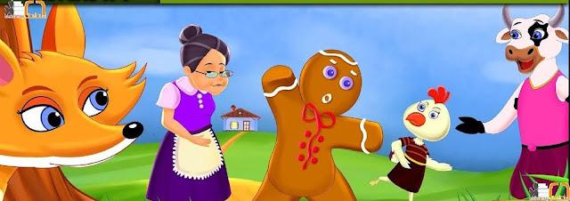 قصص اطفال | رجل خبز الزنجبيل