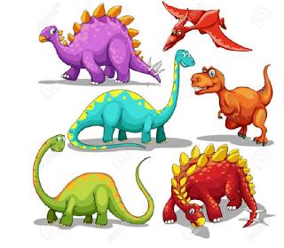 أوراق عمل الوحدة السادسة (الديناصورات) في اللغة الانجليزية للصف الرابع الفصل الثاني 2016-2017