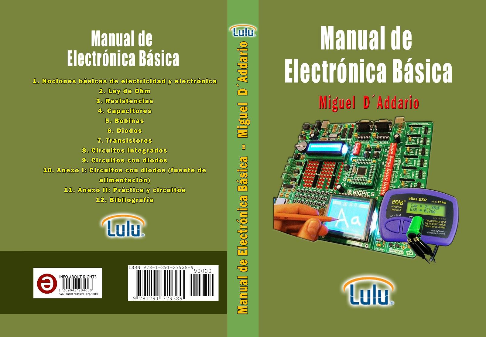 manual de electrónica básica miguel d addario pdf