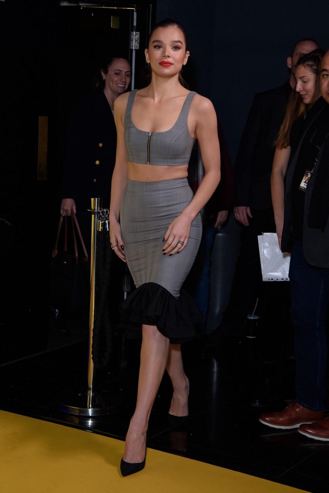 Hailee Steinfeld attend Bumblebee Fan Screening in London