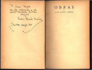 Juan Ramón Jiménez, Amor y poesía II, Ancile