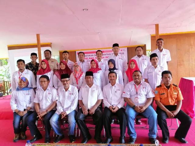 Syawal Abdul Adjid Lantik Pengurus PMI Halmahera Selatan