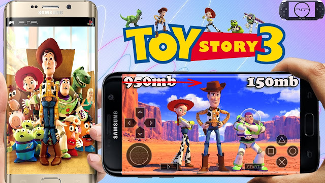 Toy Story 3 Free PSP Iso Games Download