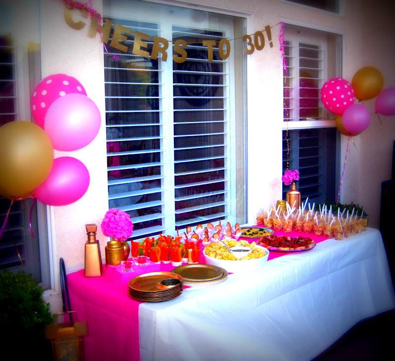 JPM Design: My 30th Birthday Party