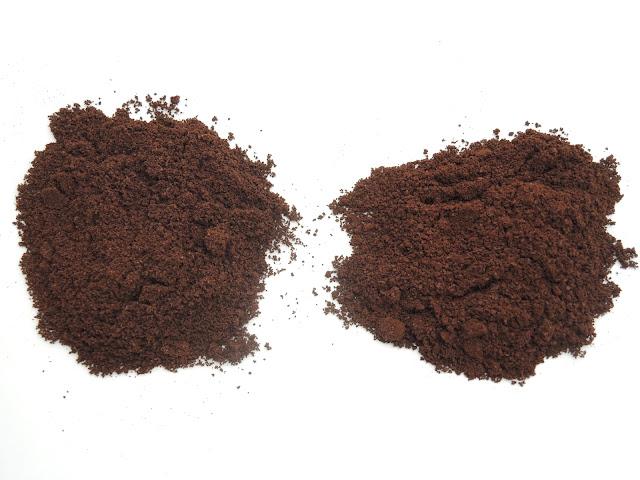 ザッセンハウスの刃とThe Coffee Mill 細挽き比較