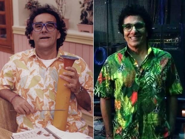 Evandro Mesquita é Armando Volta, papel que foi de David Pinheiro