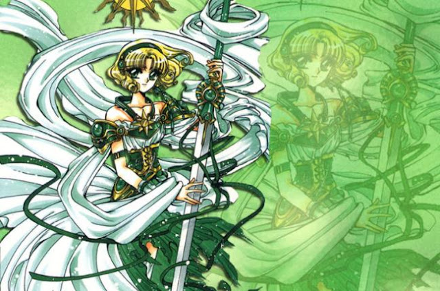 Fuu Hououji (Magic Knight Rayearth/Mahou Kishi Rayearth) - Karakter Anime Berkekuatan Angin Terkuat