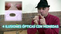 4 trucos de ilusión óptica con monedas revelados