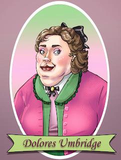 Resultado de imagem para livros de harry potter umbridge