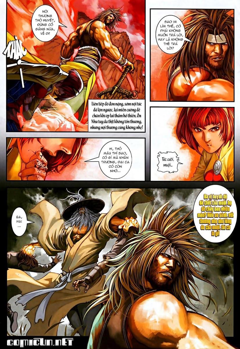 Ôn Thuỵ An Quần Hiệp Truyện Phần 2 chapter 13 trang 10