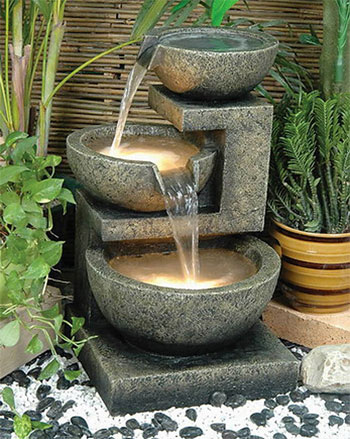 DIY Water Fountain For Unique Small Garden View - Decor Units on Small Backyard Water Features id=38065