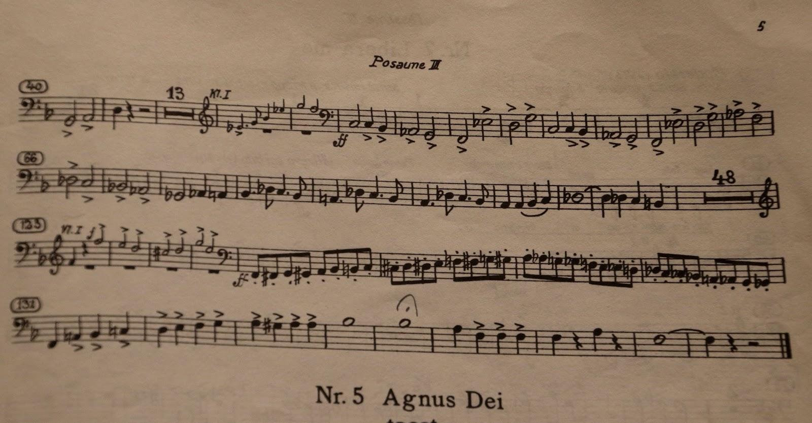 Bass Trombone Wauchope: Verdi Requiem in Westerly, Providence