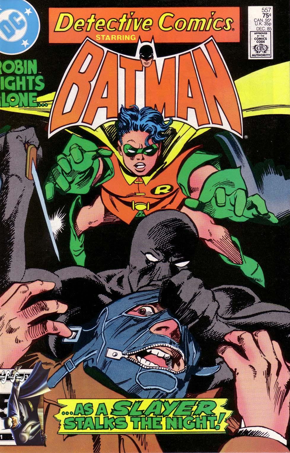 Detective Comics (1937) 557 Page 1