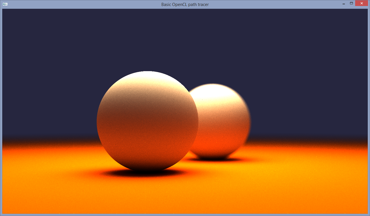 Ray Tracey's blog: OpenCL path tracing tutorial 3: OpenGL