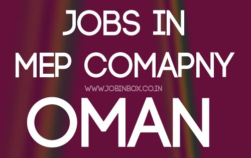 MEP Jobs in Gulf Oman
