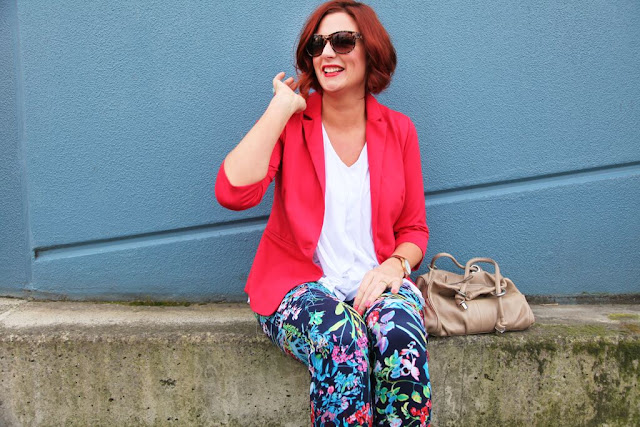 Sydney Fashion Hunter - Whatcha Wearing Wednesday #1 - Perfectly Plaid - Co-Host Bron Flat Bum Mum