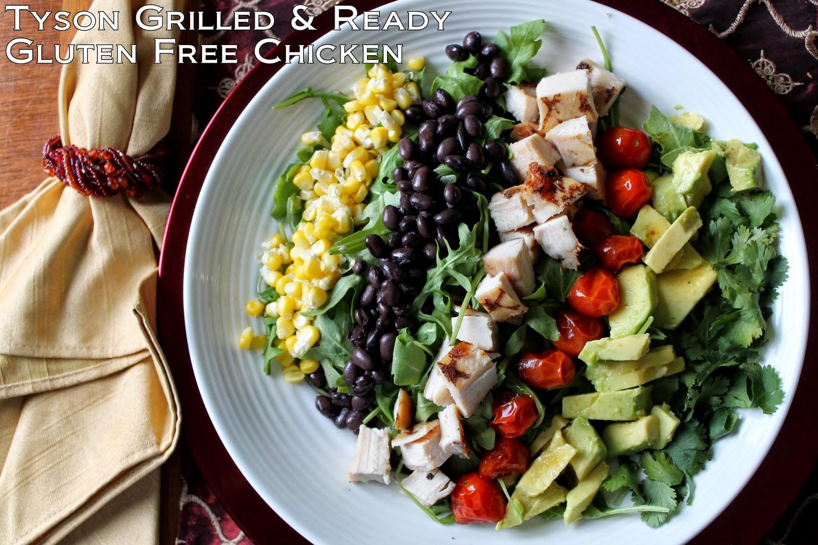 Ad Tyson Gluten Free Chicken Southwestern Cobb Salad Recipe Cookitgf I Run For Wine