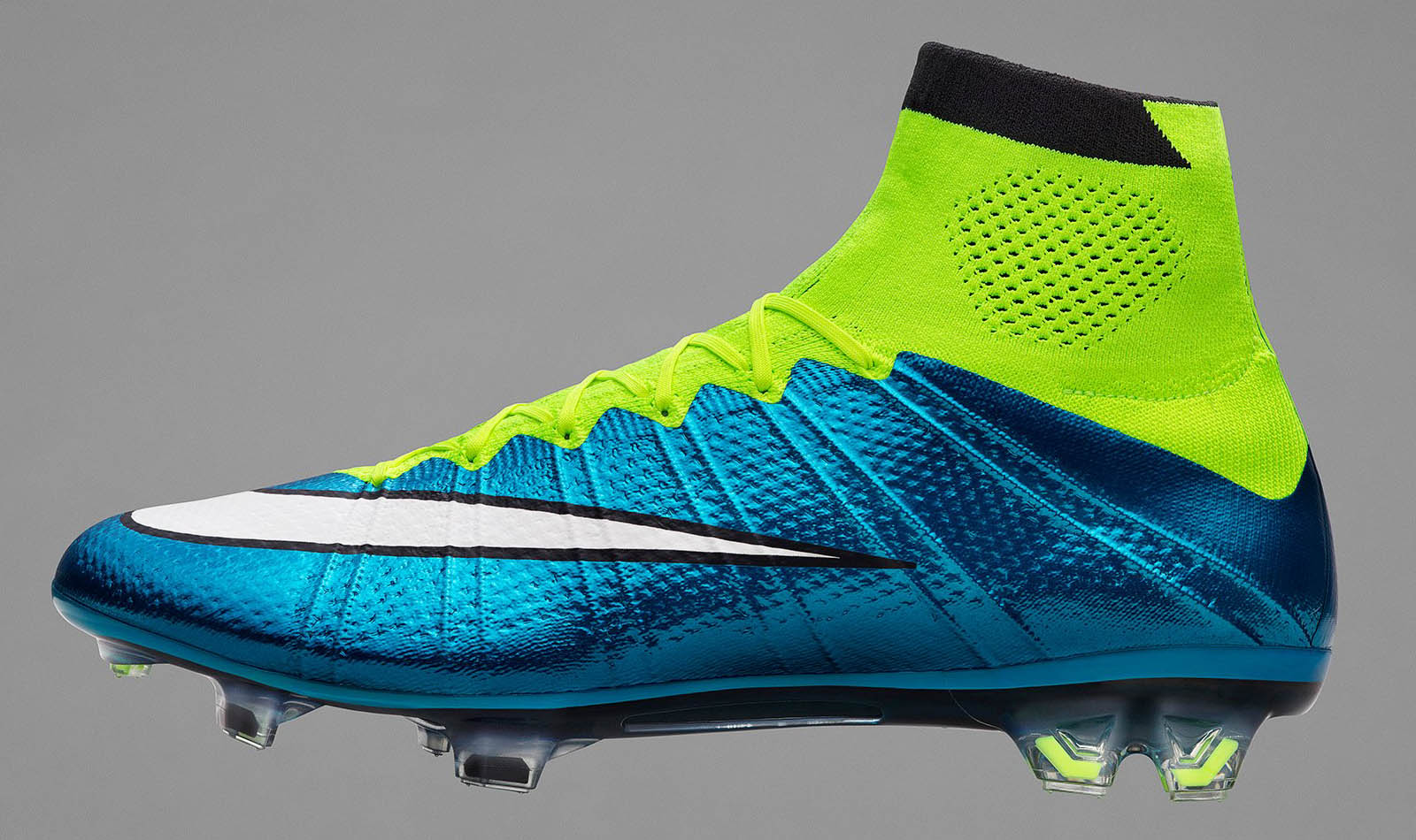 Nike Mercurial Superfly 2015 Women's Cleat - Blue Lagoon / Volt / White