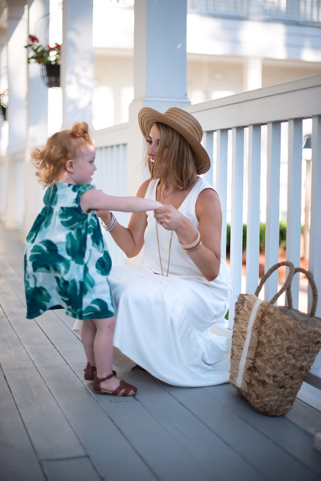 Mommy and me outfits - Click through to see more on Something Delightful Blog!