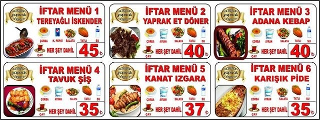 ankara hacıbayram dönercisi iftar menüsü ankara hacıbayram iftar yerleri ankara hacıbayram restoranlar
