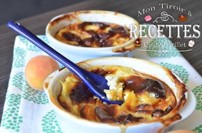 flan aux abricots sans lactose
