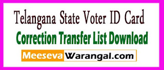 AP Voter ID Apply Status Correction Transfer List Download