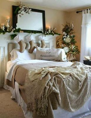 Decorar Dormitorios para Navidad
