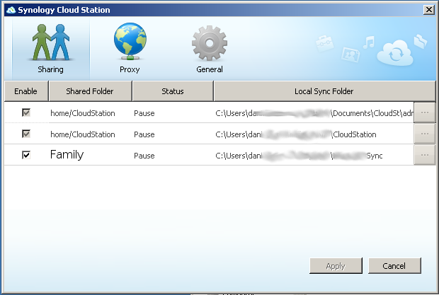 Dani's Laugh: Private File Sync and Synology