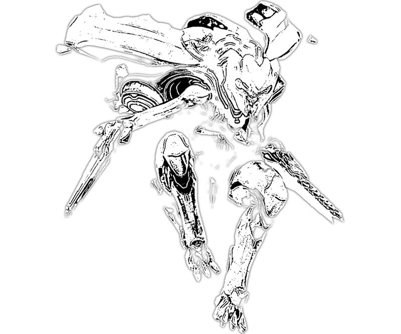 halo 4 gun coloring pages - photo#28
