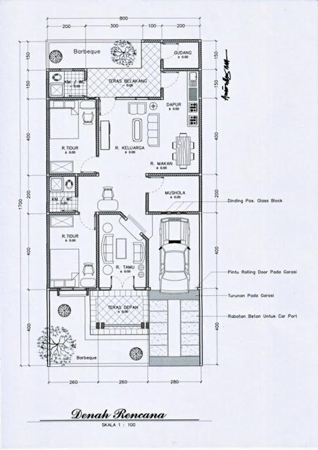 60 Desain Rumah Minimalis Type 7 X 9 Modern 2019 Update Info