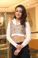 Catherine Tresa in a White Glittering Crop Top Black Leggings  Exclusive 032.JPG