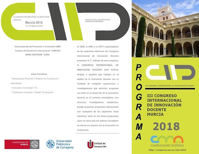III Congreso internacional de Innovación Docente.