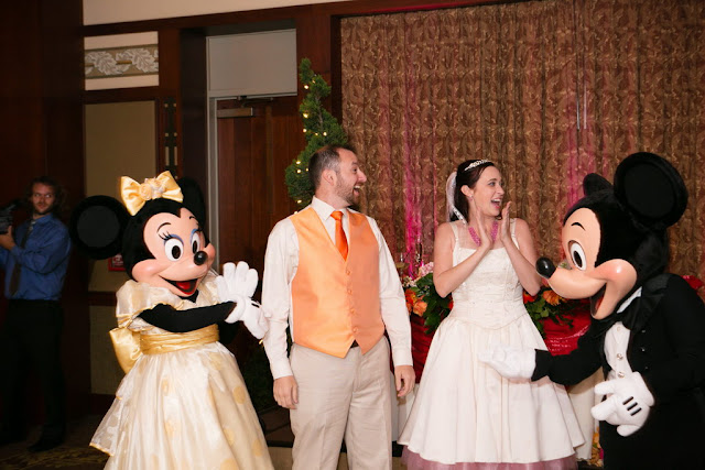 Disneyland Wedding - Mickey and Minnie {Root Photography}