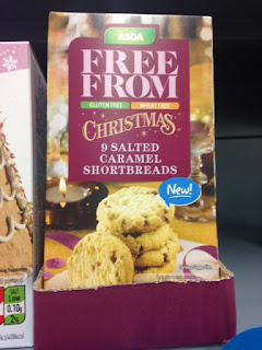 asda free from salted caramel shortbreads