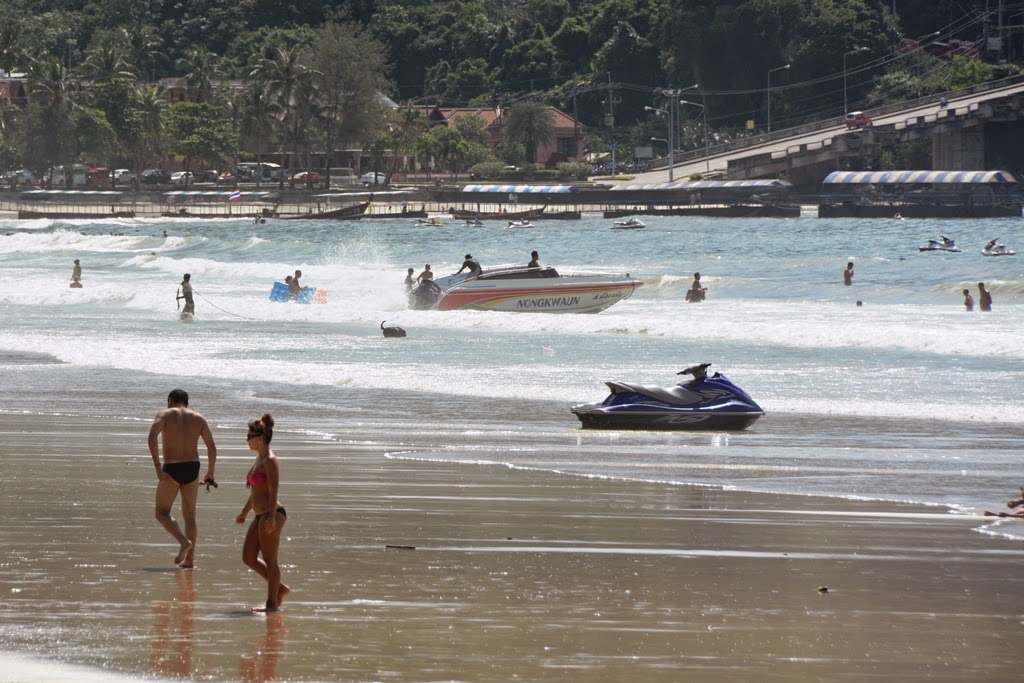Patong Beach Phuket watersports