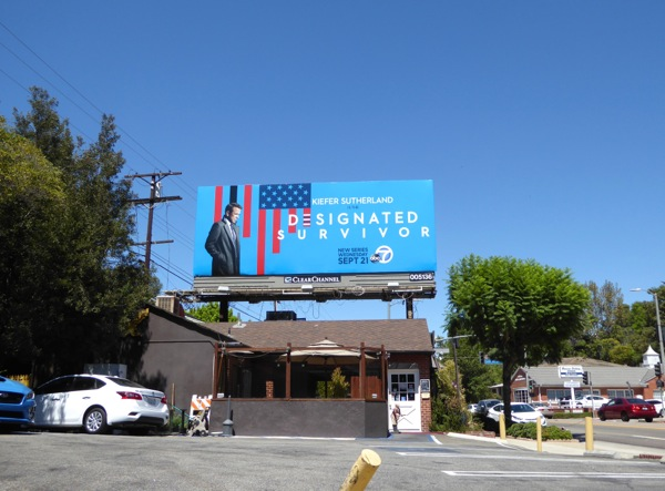 Designated Survivor TV series billboard