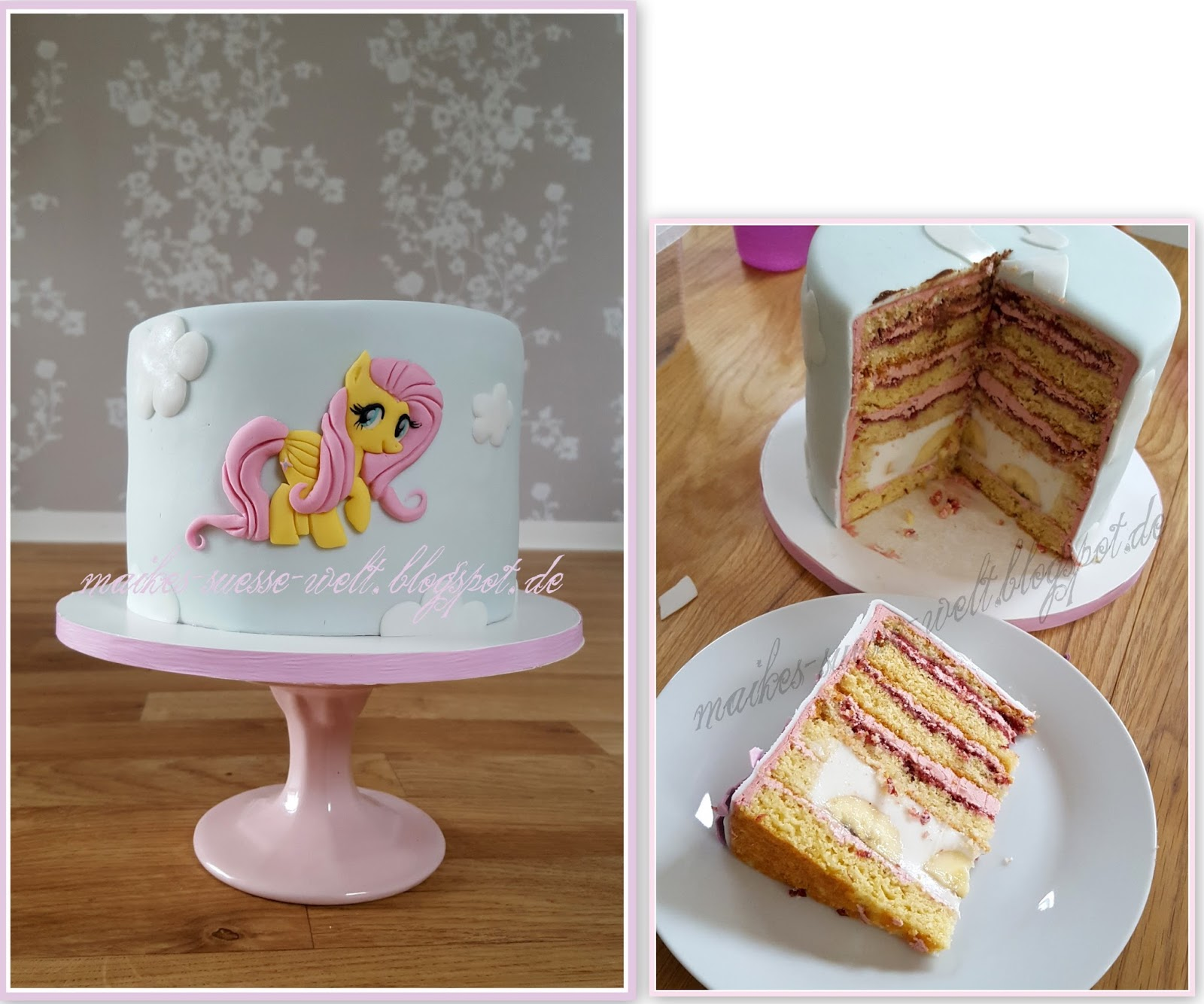 Maike S Süße Welt My Little Pony Torte