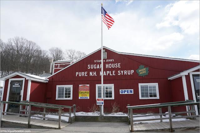 Sirope de Arce en New Hampshire: Stuart and John's Sugar House