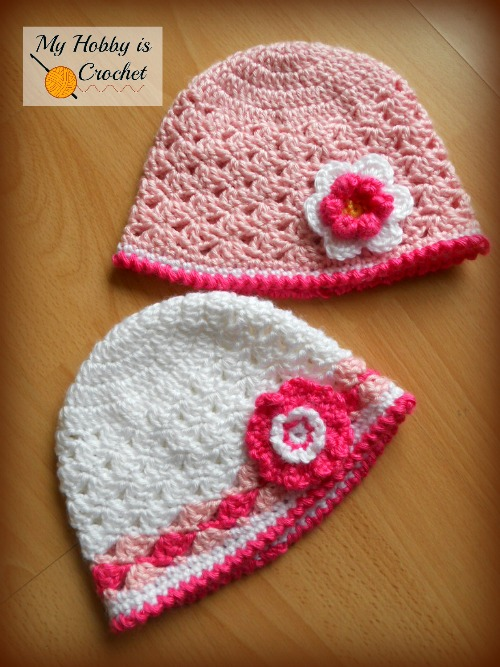 My Hobby Is Crochet Spring Lacy Hat Free Pattern With Tutorial