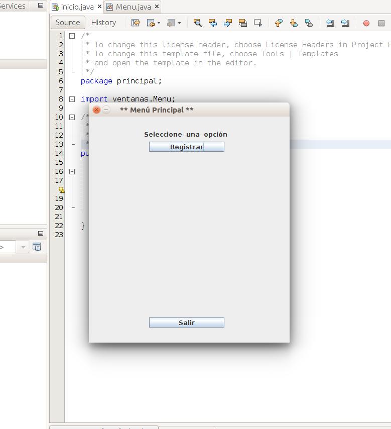 Crear Ventana Java manualmente facilmente y sin layouts. Control de ...