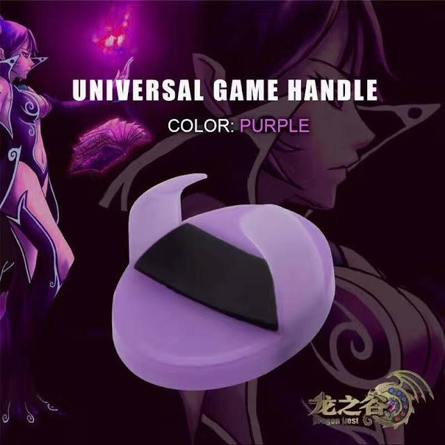 Bộ joystick lót tay chơi game màu