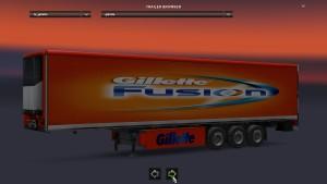 Standalone Gillette Fusion Trailer
